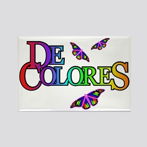 DeColores with Butterflies Rectangle Magnet