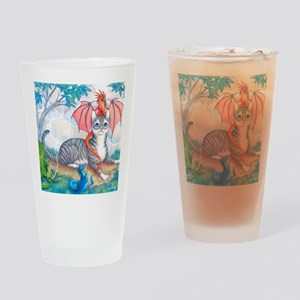 ThomasAndTheDrgnMS Drinking Glass