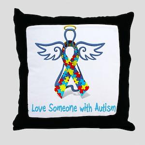 Angel T-Shirt Throw Pillow