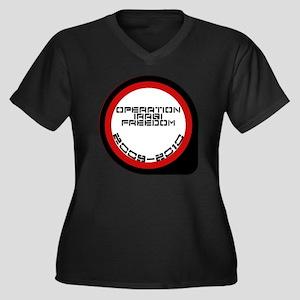 survived - r Women's Plus Size Dark V-Neck T-Shirt