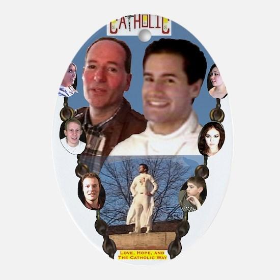 4-CAPTAIN CATHOLIC - EPISODES IV, V, Oval Ornament