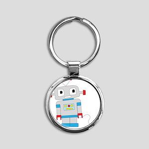 cuterobot Round Keychain