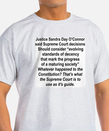 EVOLVING STANDARDS OF DECENCY ARE NO T-Shirt