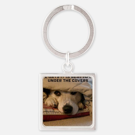 BestUnderCovers Square Keychain