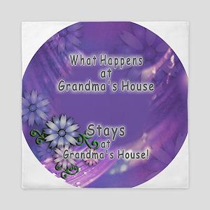 Grandmas House Queen Duvet