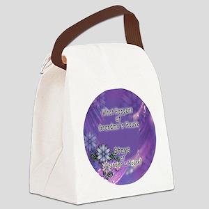 Grandmas House Canvas Lunch Bag