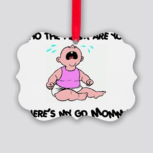 WheresMyMommy2 Picture Ornament