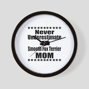 Smooth Fox Terrier Mom Wall Clock