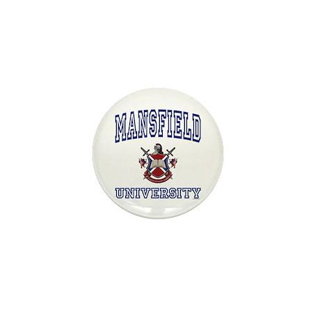 MANSFIELD University Mini Button