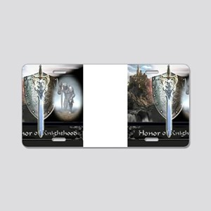 HonorOfKnighthood Aluminum License Plate