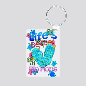Life Is Better In Flip Flops Keychains