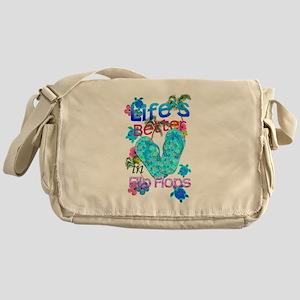 Life Is Better In Flip Flops Messenger Bag