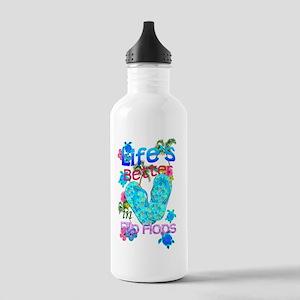 Life Is Better In Flip Flops Water Bottle