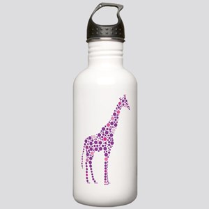Purple Giraffe Stainless Water Bottle 1.0L
