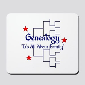 Family Tree Chart Mousepad