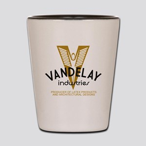 VandelayId Shot Glass