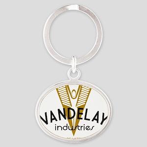 VandelayId Oval Keychain