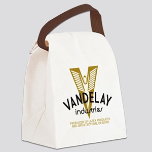 VandelayId Canvas Lunch Bag