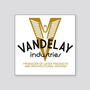 "VandelayId Square Sticker 3"" x 3"""