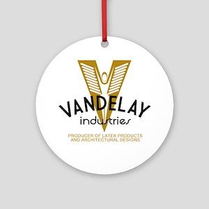 VandelayId Round Ornament