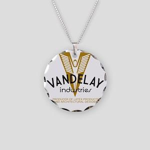 VandelayId Necklace Circle Charm