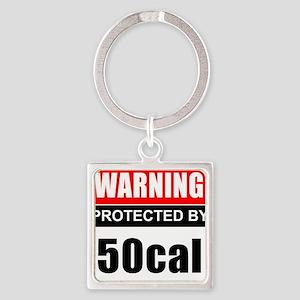 Warning 50cal Keychains