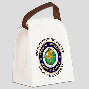 FAA_Logo_Color_AMEL-patch copy Canvas Lunch Bag