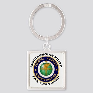 FAA_Logo_Color_AMEL-patch copy Square Keychain