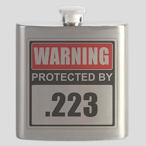 Warning .223 Flask