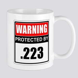Warning .223 Mugs