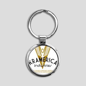 Kramec Round Keychain