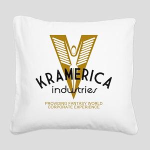 Kramec Square Canvas Pillow