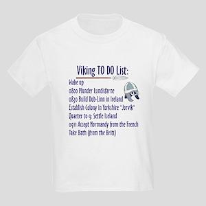 Viking To Do List Kids T-Shirt