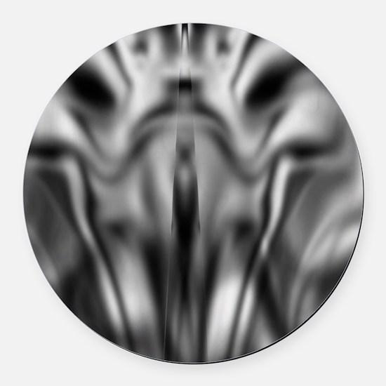 demon2 Round Car Magnet