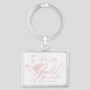indescribable Landscape Keychain