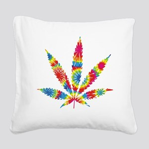 HippieWe Square Canvas Pillow