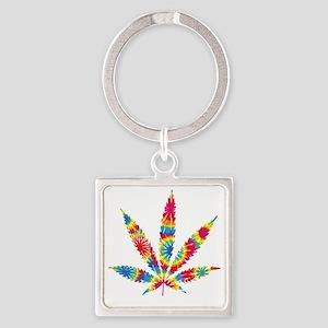 HippieWe Square Keychain