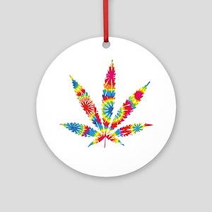 HippieWe Round Ornament