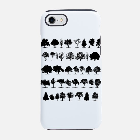 Tree Shapes iPhone 7 Tough Case