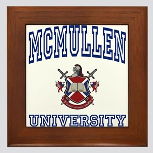 MCMULLEN University Framed Tile