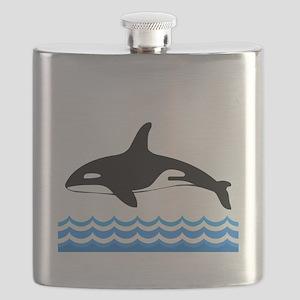 Tilly -blk Flask