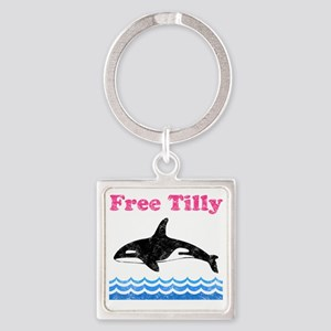 Free Tilly Square Keychain
