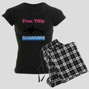 Free Tilly Women's Dark Pajamas