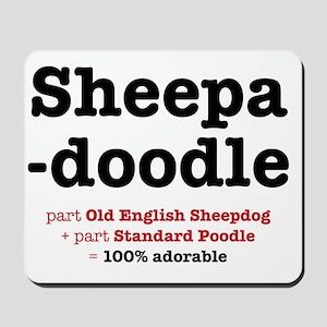 sheepadoodle Mousepad