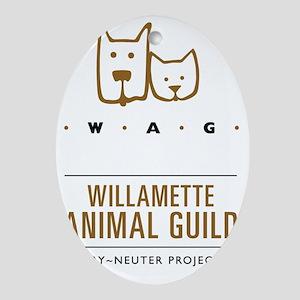 Full size color WAG_web_logotransmar Oval Ornament