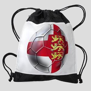 English 3 Lions Football Drawstring Bag