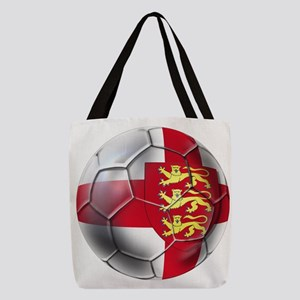 English 3 Lions Football Polyester Tote Bag