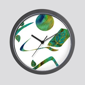 2-GreenReader Wall Clock