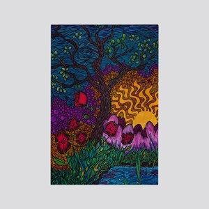 Tree by Christopher Blosser Rectangle Magnet
