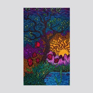 Tree by Christopher Blosser Sticker (Rectangle)